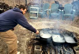 Small Batch Maple Syrup Making You Only Need 1 Tree