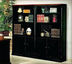barrister bookcase with glass doors black bookcases with glass doors austin barrister bookcase with glass doors