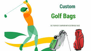 custom golf bags are not just promotional gifts but can be emplo as team spirit items party favors and employee gifts too