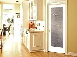 etched pantry door doors windows pros and cons of glass pantry door small interior frosted glass
