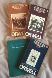 exploring my library george orwell kaggsy s bookish ramblings essays and poetry