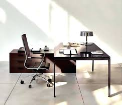 nice office design. Enchanting Dark Brown Table And Nice White Chair In Home Office Slim Wooden Working Elegant Designs Design