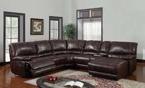 nice black leather reclining sectional sofa brown leather sectional sofa stoney creek design