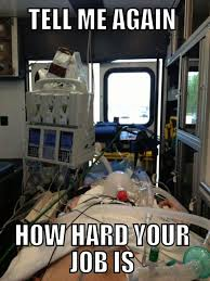 Wife of a Paramedic on Pinterest | Paramedics, Ems and Ems Funny via Relatably.com