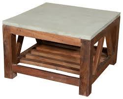 small french beam coffee table