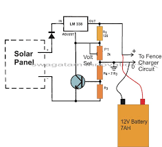 wiring diagram 12v solar battery charger circuit diagram wiring simple battery charging circuit at Battery Charger Wiring Design