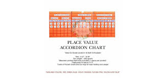 Pocket Chart Rings Place Value Accordion Pocket Chart