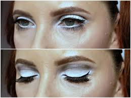 1960s eye makeup look