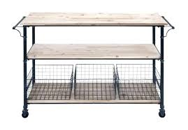 kitchen cart target image of wire granite top bamboo chrome