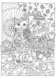 Small Picture Creative Cats Coloring Book by Marjorie Sarnat Dover
