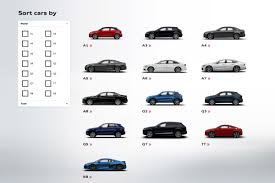 Audi A3 Colour Chart Audi Car Configurator Guide Specifications Options And