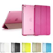 Ultra Slim Smart Flip Stand <b>PU Leather Cover Case</b> For Apple iPad ...