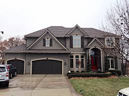 overland park home with exterior painting