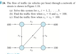 linear algebra network flow problem mathematics stack exchange enter image description here