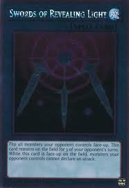 Swords Of Revealing Light 1st Edition Yugioh Noble Knights Of The Round Table Platinum Rare Swords Of Revealing Light Nkrt En025
