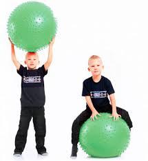 <b>Мяч</b> Тривес игольчатый <b>85cm</b> Green М-185 - Школьные туры