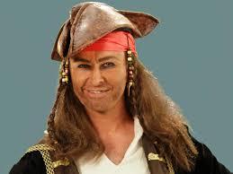 pirate makeup with mummy makeup