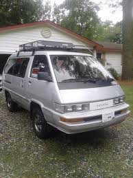 1987 Toyota Le 4x4 Van Rust Free From California 5speed Hi Lo 4wd ...