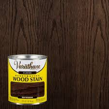 Varathane Classic Wood Stain Color Chart Varathane 1 Qt Espresso Classic Wood Interior Stain