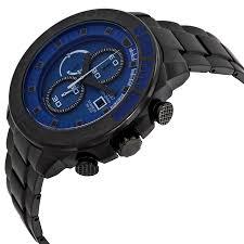citizen men s ca0525 50l eco drive super titanium blue dial watch citizen eco drive blue dial black titanium mens