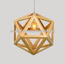 decorative pendant lighting. Hot Sales Wood Frame Pendant Light ,Decorative Lighting Original  (0830-1p Decorative