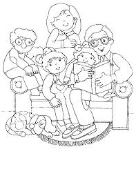 Family Coloring Pages For Preschoolers Coloring Pages Family Family