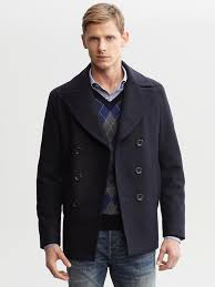 another item that you could spent a ton of money on is a peacoat but it s not necessary and a ton is obviously subjective banana republic does a good
