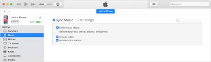 Use Itunes To Sync Your Iphone Ipad Or Ipod With Your