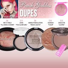 jeffree star cosmetics peach dess skin frost dupes
