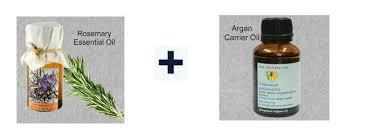 carrier oils for hair. soulflower rosemary essential oil and argan carrier oils for hair