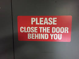 please lock door sign. After Looking Searching Around We\\u0027ve Now Found A Reputable And Reliable Sign Maker. Contact Us For All Your Custom Needs! Please Lock Door