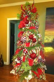 Beautifully Decorated Christmas Trees | Christmas tree with beautifully  decorated with red and .