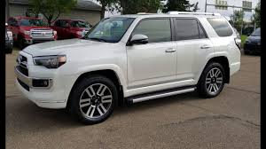 2018 toyota 4runner limited in blizzard pearl with redwood interior first look with detailed review