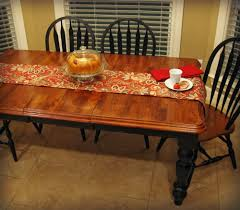 Kitchen Table Refinishing Curb Alert My New Kitchen Farm Table Wood Refinishing Project