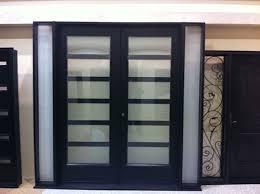 Innovation Modern Front Double Door 8 Foot Fiberglass Exterior Doors Intended Concept Ideas
