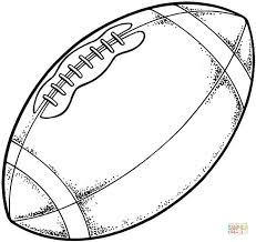 football coloring pages. Plain Football Click The Typical Modern American Football Coloring Pages  With Football Coloring Pages K