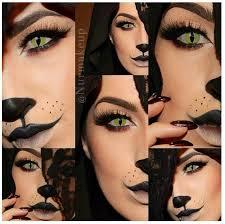 cat makeup sfx contact lenses