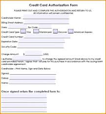 by credit card size template for word sle of statement visa authorization