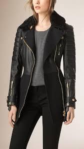 women long wool cashmere black pea coat
