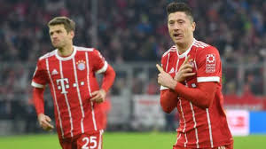 The Bundesliga Chart Toppers In 2017 18 Müller And