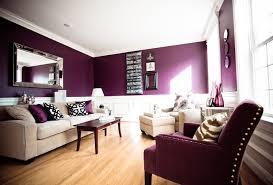 purple white living room decorations deep