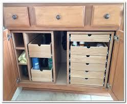 bathroom sink cabinet organizers bathroom cabinet storage drawers