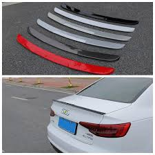 Auto Spoiler For Audi A4 B9 2017.2018 <b>High Quality Brand New</b> ...