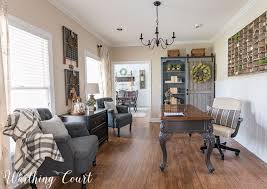 farmhouse style home office worthing court
