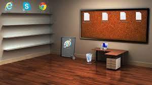 Shelf And Desk Wallpaper Data-src ...