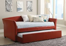 faux leather daybed cm1956rd