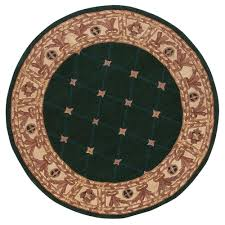 home decorators collection windsor hunter green 8 ft round area rug