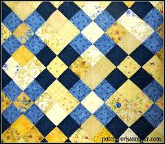 Blue And Yellow Quilt Made With A Few Summer Breeze Charm Packs By ... & ... Yellow And Blue Plaid Quilt Yellow And Blue Duvet Covers Yellow And  Blue Quilt Quilting Yellow ... Adamdwight.com