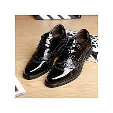 men s dress modern classic lace up leather slip on formal shoes men genuine leather casual shoes