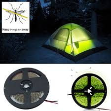 Us 085 15 Offaliexpresscom Buy 5m Dc Female Repelling Mosquito Light Led Strip 12v 2835 Camping Lamp Indoor Outdoor Lighting For Hiking In